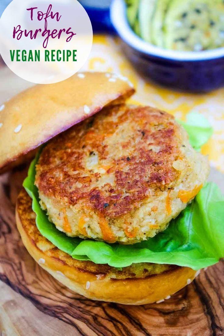 Tofu Burgers #tofu #plantbased #vegan