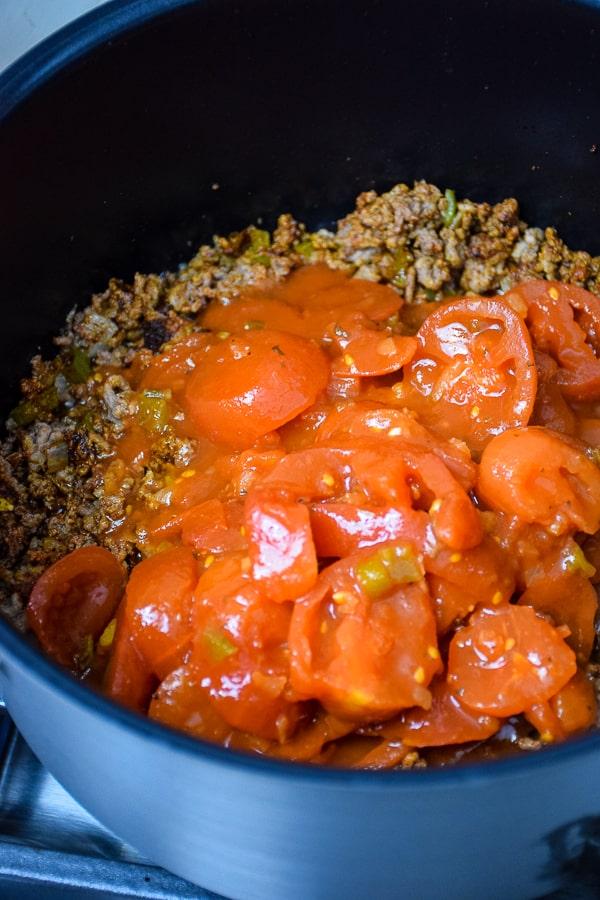 Classic Beef Goulash or American Chop Suey