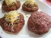 Easy Bacon, Onion, and Cheese Stuffed Burgers