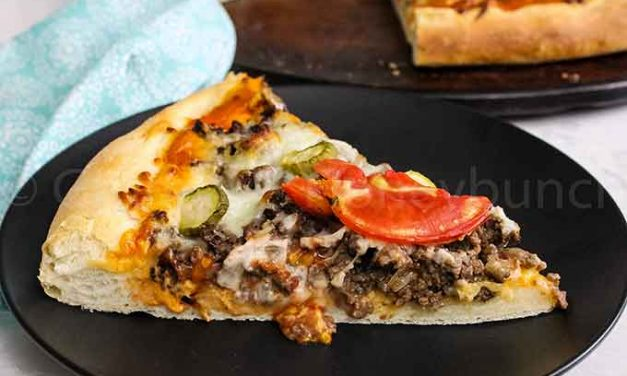 Cheeseburger Pizza Recipe