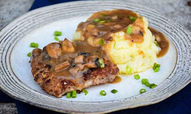 Country Fried Steak with Mushroom Gravy