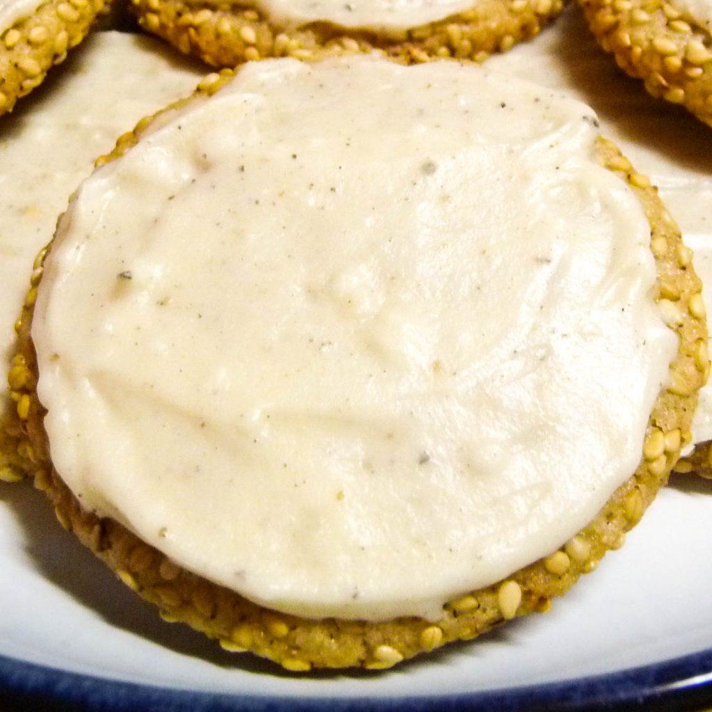 Sesame Cardamom Chews