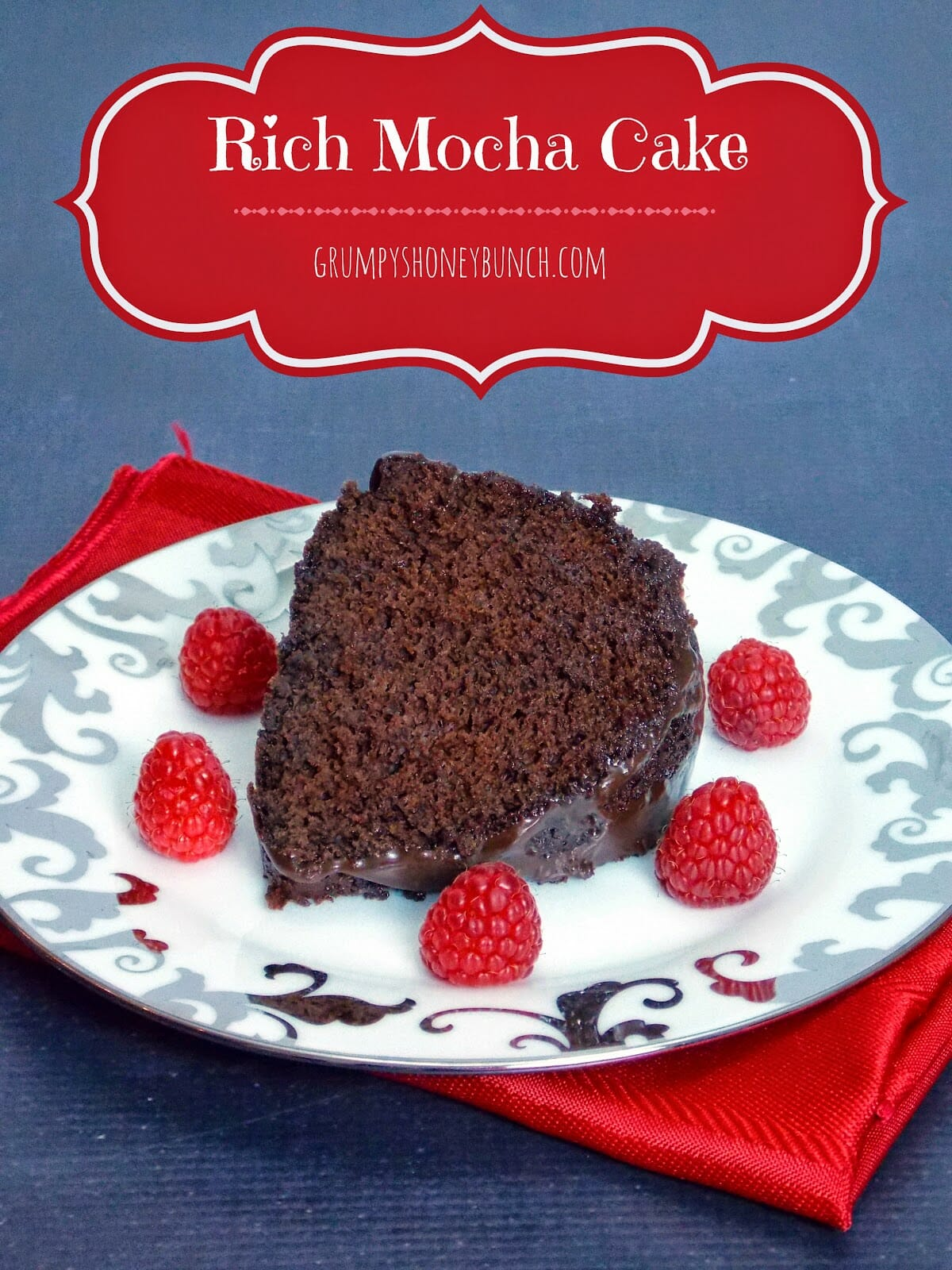 Rich Mocha Cake – 5 Weight Watcher Points Plus