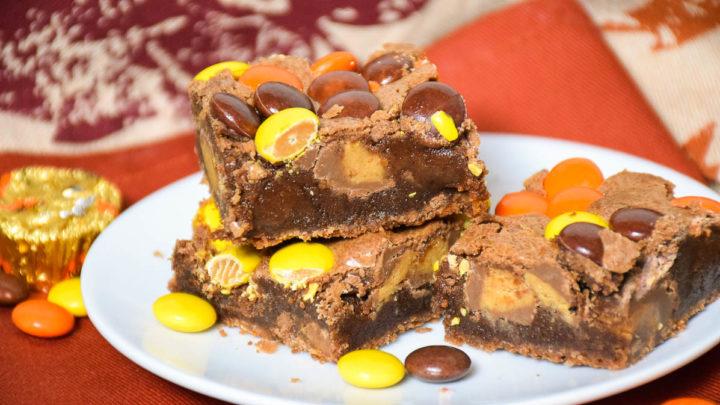 Loaded Peanut Butter Brownies