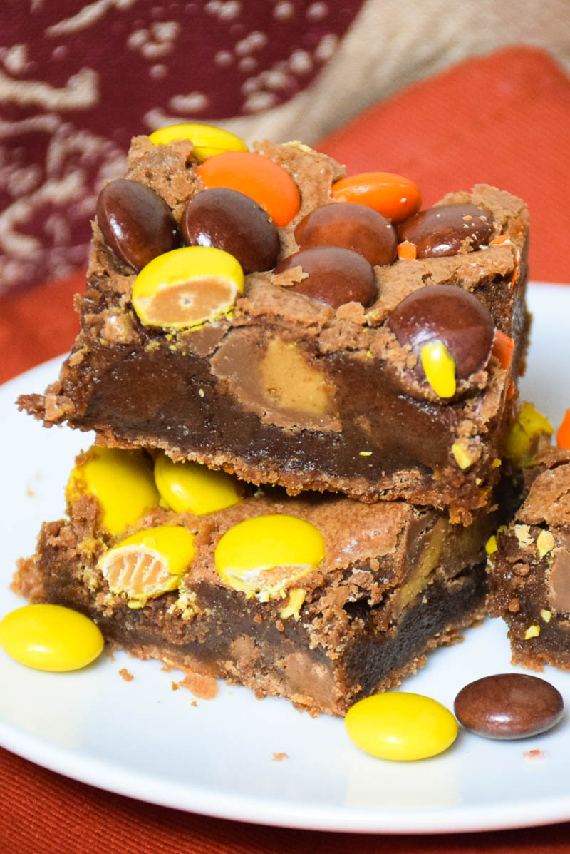 Loaded Peanut Butter Brownies