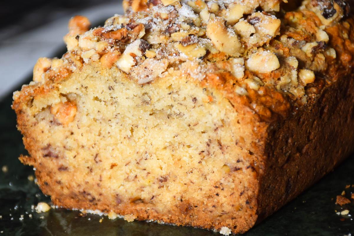 Maple Walnut Banana Bread