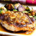 Pork with Ginger Maple Sauce