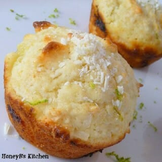 Lime, white chocolate and coconut muffins – Taste & Create Event