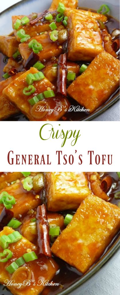 Crispy General Tso's Tofu