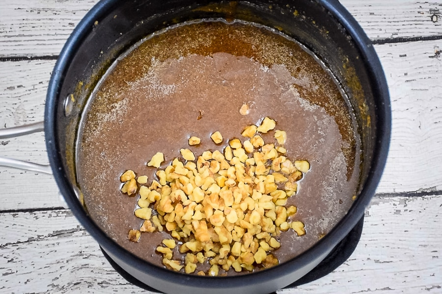 Brown Sugar Fudge with Walnuts