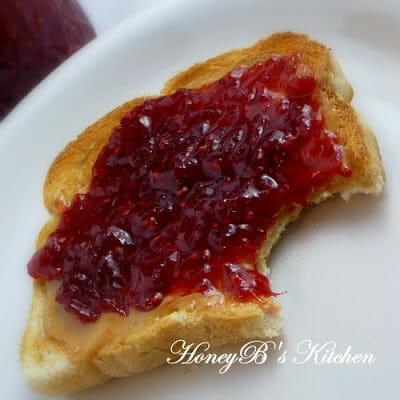 Homemade Berry Rhubarb Jam