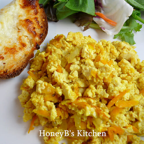 Family Recipes – Mom's Scrambled Tofu