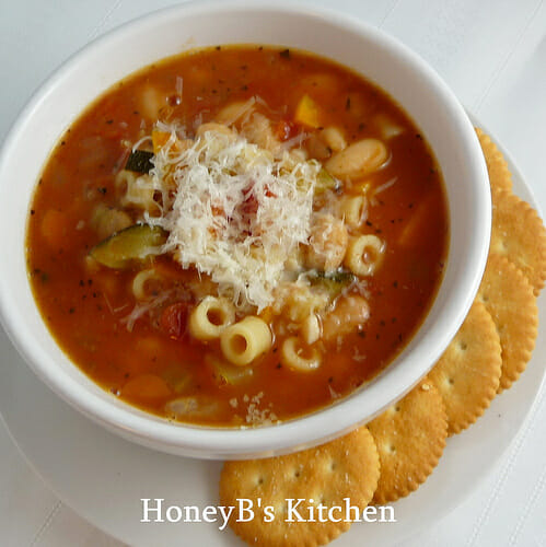 Light and Delicious Vegetarian Minestrone