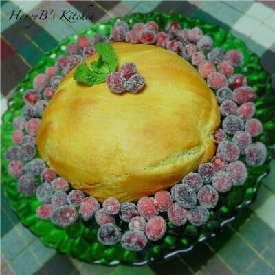 Festive Cranberry Pecan Brie