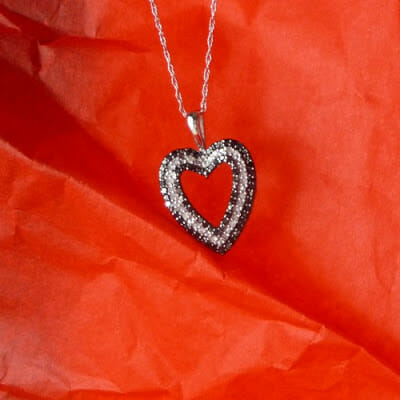 Valentine Gift Idea Heart Necklace