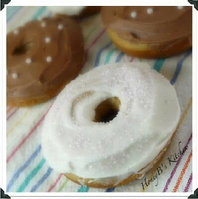 Baking donuts
