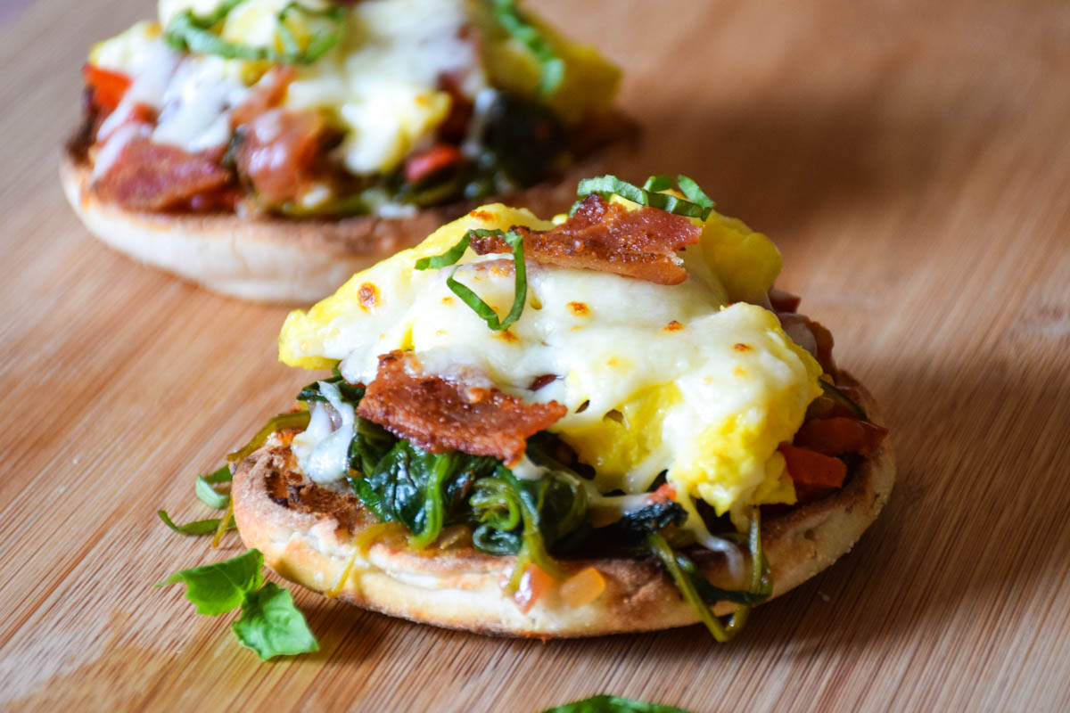 Breakfast Bruschetta – Savory breakfast sandwich