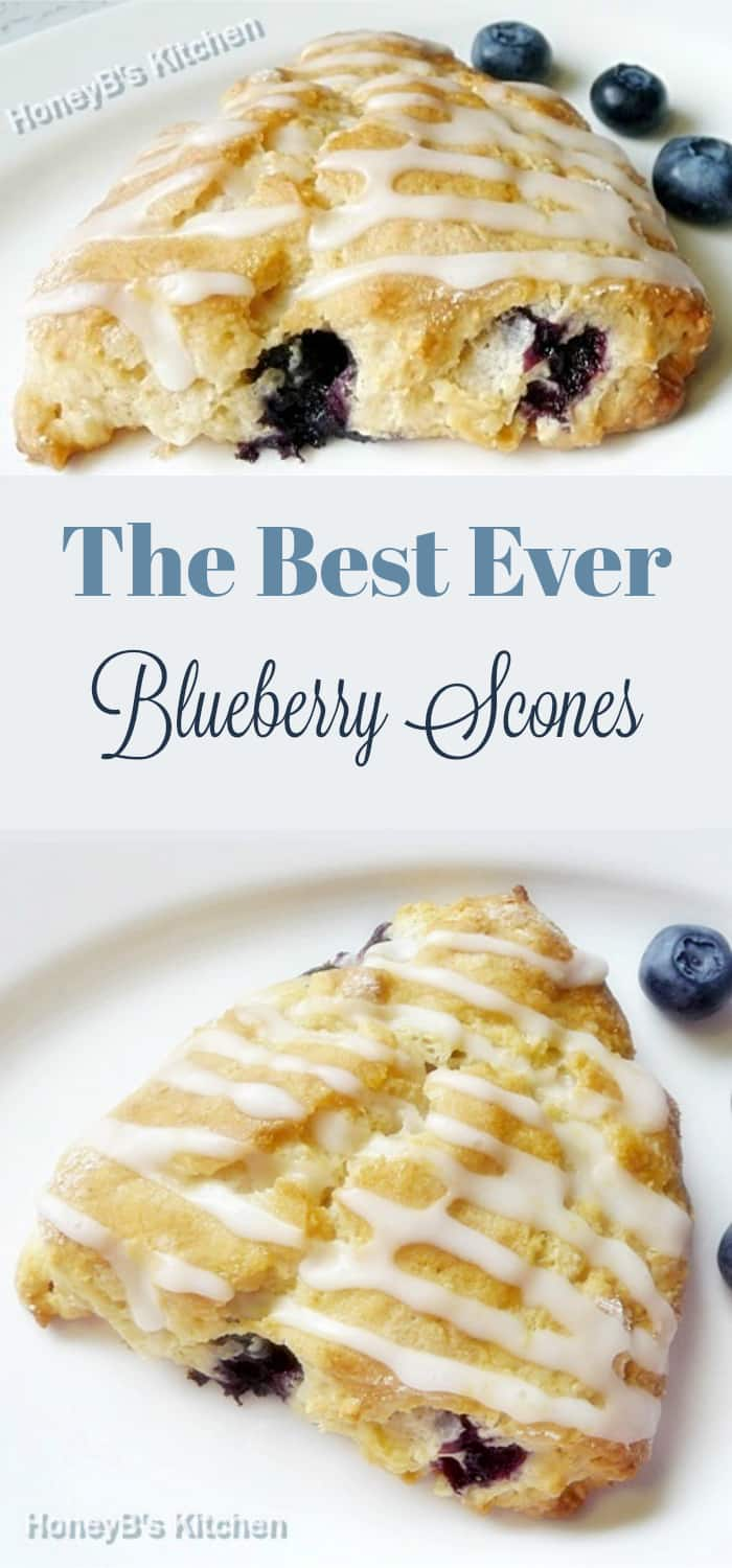 The Best Ever Blueberry Scones #blueberry #scones #blueberryscones #baking #breakfast #brunch #recipeoftheday