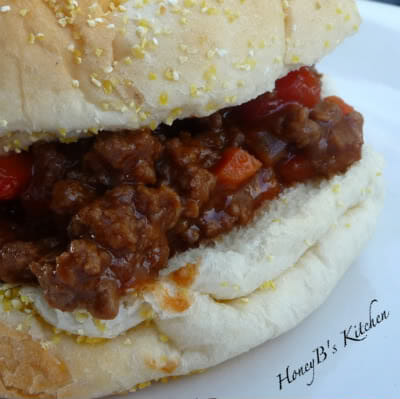 Decked out Sloppy Joes