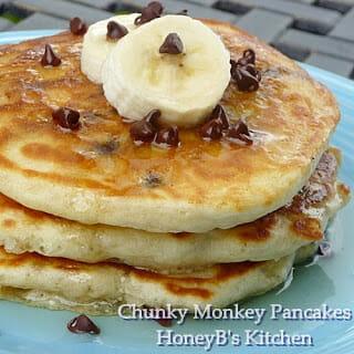 Chunky Monkey Breakfast Cakes