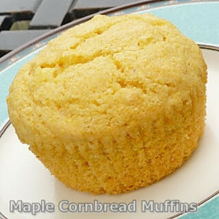 Maple Cornbread Muffins