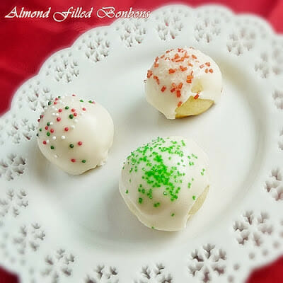 Almond Filled Bonbons