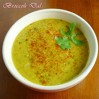Broccoli Dal – one of my favorite warming dishes!