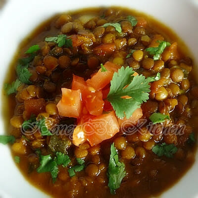 Spiced Lentil-Tomato Soup