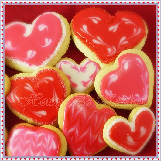 Valentine Soft Sugar Cookies