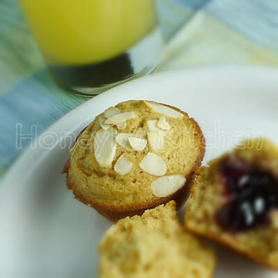 Almond Breakfast Muffins