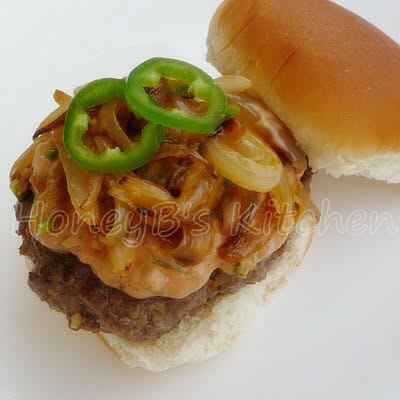 The Jalapeno Cheeseburger that is good for you!
