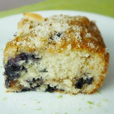 Blueberry Lime Coffeecake Surprise