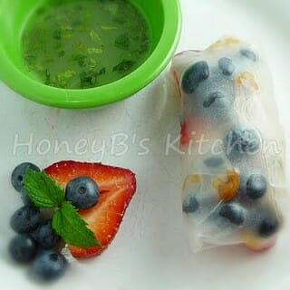 Fruit Spring Rolls – Secret Recipe Club