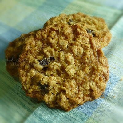 Oatmeal Raisin Cookies for Connor