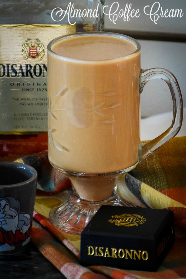 Almond Coffee Cream #coffeerecipe #amaretto #almond #cream