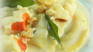 Buitoni Butternut Squash with Lobster Sage Cream Sauce