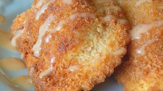 Fried Butternut Squash Agnolotti