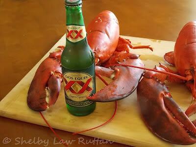 Butternut Squash Ravioli with Lobster Sage Cream Sauce