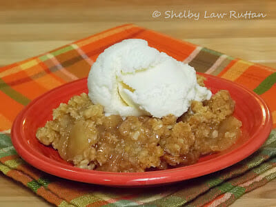 The Best Apple Crisp I ever made