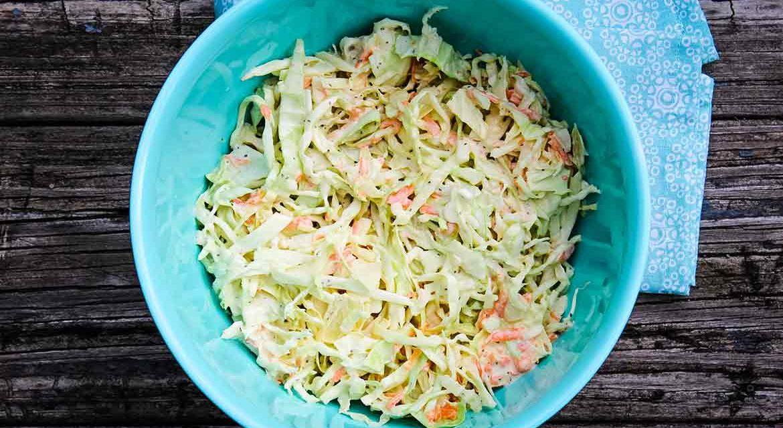 Homemade Coleslaw Recipe