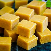 Pumpkin Spice Fudge – made with real pumpkin!