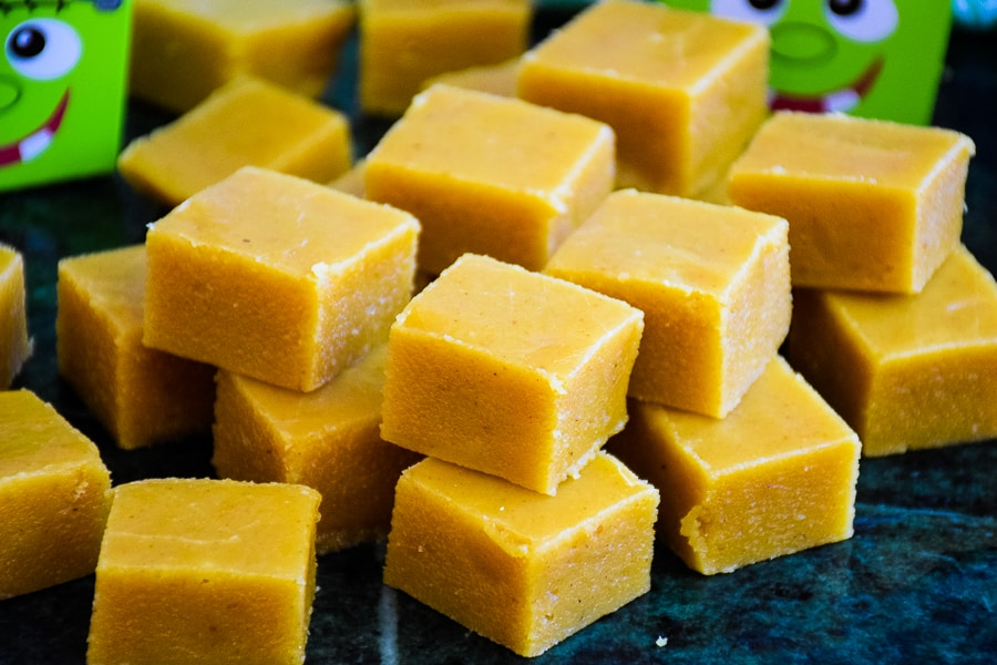 Pumpkin Spice Fudge