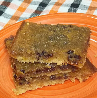 Gooey Pumpkin Chip Bars (3 WW Plus Points)