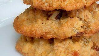 Oatmeal Raisin Cookies with Walnuts