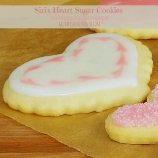 Siri's Heart Sugar Cookies