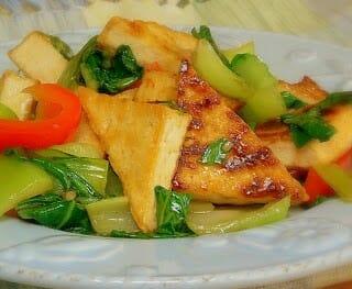 Spicy Baby Bok Choy Stir-Fry