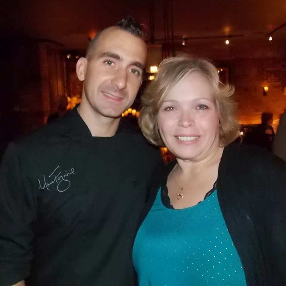Marc Forgione and Grumpy's Honeybunch
