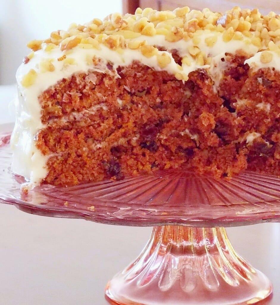 Best Birthday Carrot Cake