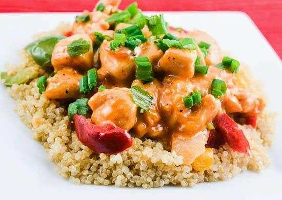 Bang Bang Chicken with Quinoa