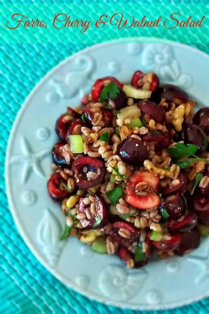 Farro Cherry Walnut Salad